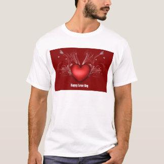 愛ハート Tシャツ