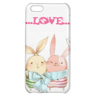 愛バニーのiPhoneの場合 iPhone5Cケース