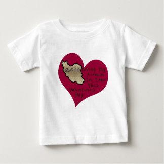 愛パイロットのイランVAL日 ベビーTシャツ