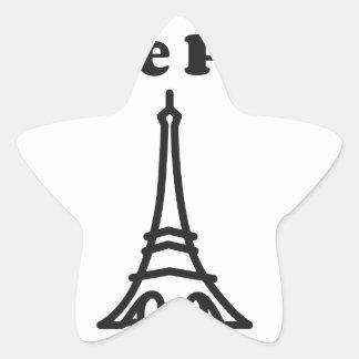 愛パリ 星シール