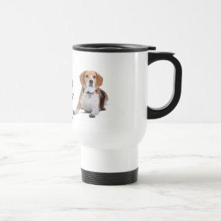 愛ビーグル犬の小犬-小犬 トラベルマグ