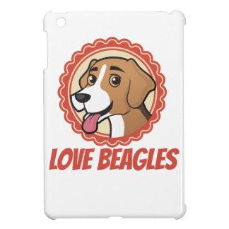 愛ビーグル犬 iPad MINIケース