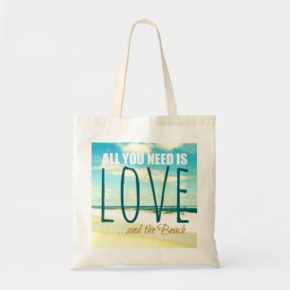 愛ビーチの写真のバッグ トートバッグ