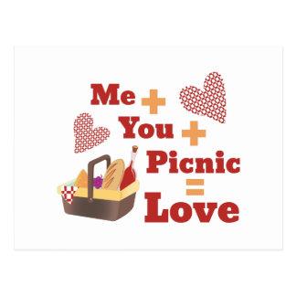 愛ピクニック ポストカード