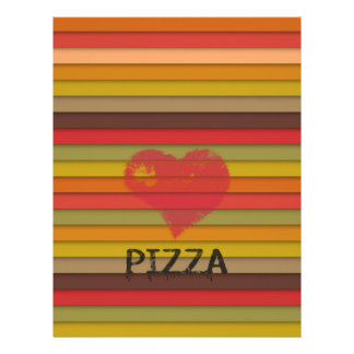 愛ピザ-ピザは愛、ピザです生命です レターヘッド