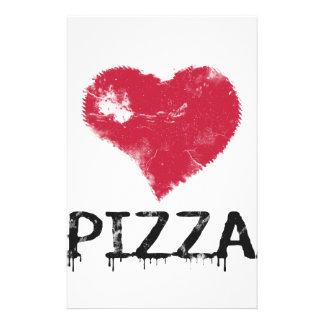 愛ピザ-ピザは愛、ピザです生命です 便箋