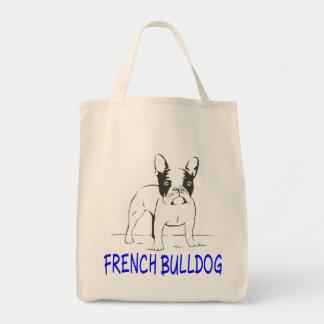 愛フレンチ・ブルドッグの小犬のトートバック トートバッグ