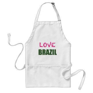 愛ブラジル スタンダードエプロン