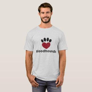 愛ブラッドハウンド Tシャツ