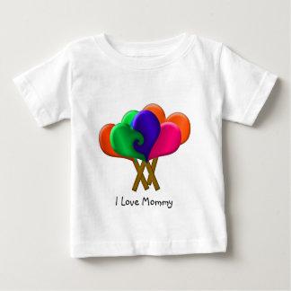愛ポップ ベビーTシャツ