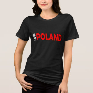 愛ポーランド Tシャツ