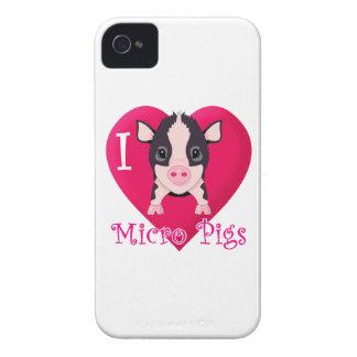 愛マイクロのブタ Case-Mate iPhone 4 ケース