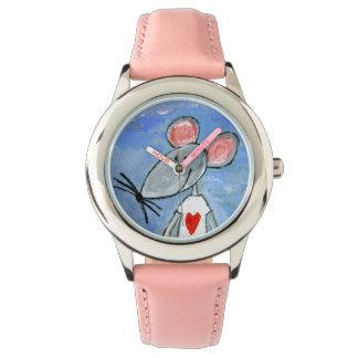 愛マウスの腕時計 腕時計