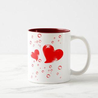 愛マグ ツートーンマグカップ