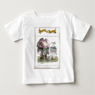 愛ヨークシャの結婚の指導 ベビーTシャツ