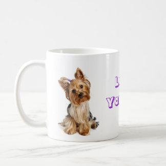 愛ヨークシャーテリアのヨークシャテリアの小犬のコーヒー・マグ コーヒーマグカップ