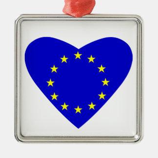 愛ヨーロッパ メタルオーナメント