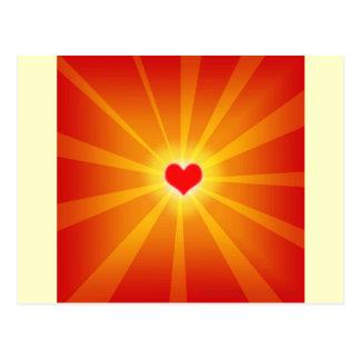 愛ライト輝やきライン ポストカード