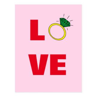 愛リング ポストカード