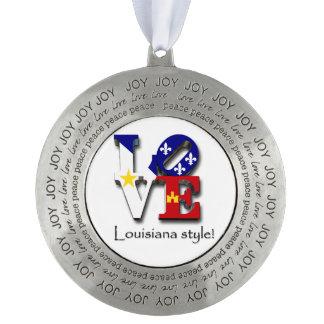 愛ルイジアナのケージャンのAcadianaのスタイル オーナメント