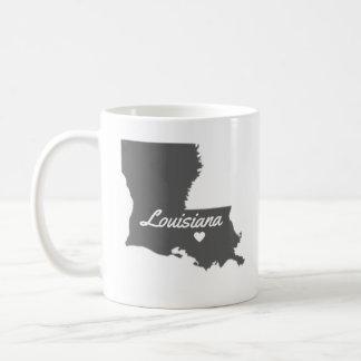 愛ルイジアナ愛バトン・ルージュのマグ コーヒーマグカップ