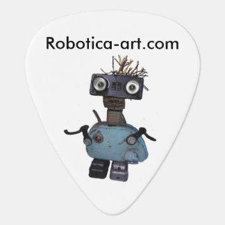 愛ロボットか。 演劇のギターか。 この一突きをここに得て下さい! ギターピック