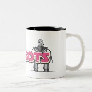 愛ロボット ツートーンマグカップ