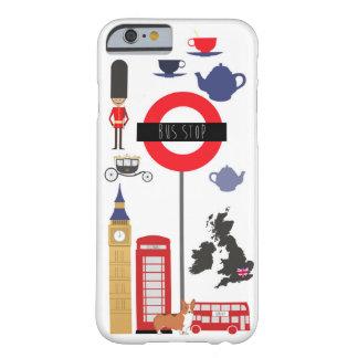 愛ロンドンの画像的なIPhone6ケース Barely There iPhone 6 ケース