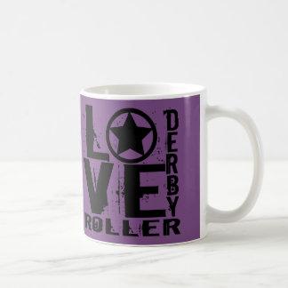 愛ローラーダービー コーヒーマグカップ
