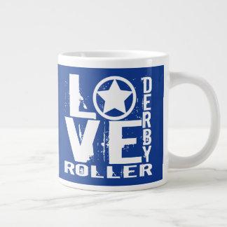 愛ローラーダービー ジャンボコーヒーマグカップ