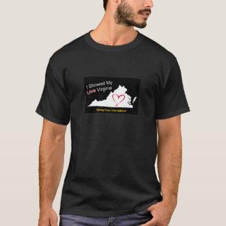 愛ヴァージニアを示して下さい Tシャツ