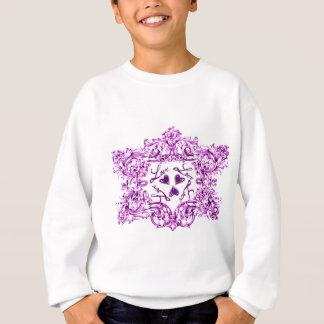愛ヴィンテージのバロック式のプリント スウェットシャツ