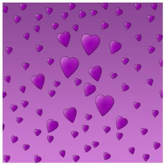 愛中心の紫色パターン フォトスカルプチャー