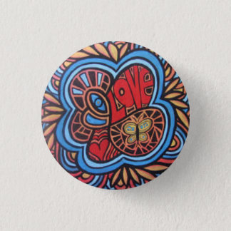 愛円形ボタン 3.2CM 丸型バッジ