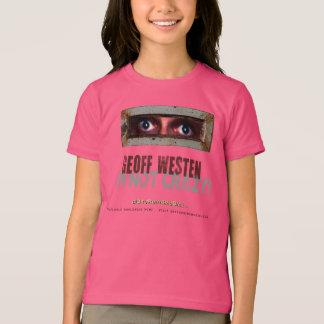 愛刑務所のふし穴のワイシャツ(女の子) Tシャツ