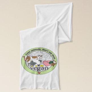 愛動物はそれらをビーガン食べません スカーフ