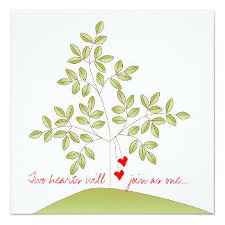 愛単に木-婚約パーティ カード