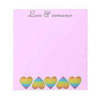 愛及びロマンス ノートパッド