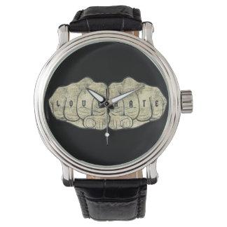 愛及び憎悪の入れ墨 腕時計