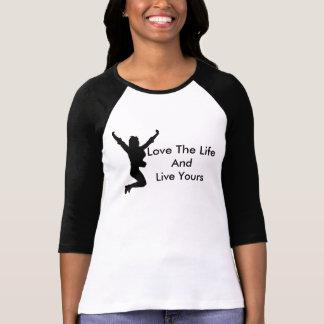 愛及び生命 Tシャツ