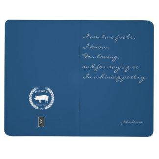 愛及び詩歌のノート-三重の愚か者のためにだまして下さい ポケットジャーナル