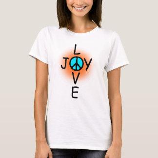 愛喜びのTシャツ Tシャツ