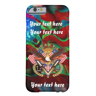 愛国心が強いすべてのスタイルは見ます芸術家のコメントを喜びます BARELY THERE iPhone 6 ケース