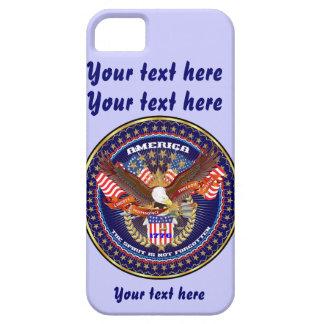 愛国心が強いすべてのスタイルは見ます芸術家のコメントを喜びます iPhone SE/5/5s ケース