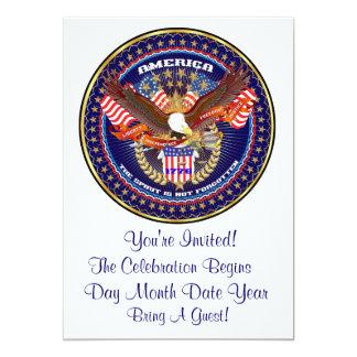 愛国心が強いまたは退役軍人の意見の芸術家のコメント カード