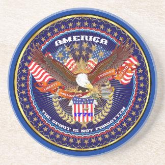 愛国心が強いまたは退役軍人の意見の芸術家のコメント コースター