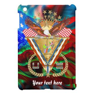 愛国心が強いまたは退役軍人の意見の芸術家は次コメントします iPad MINIカバー
