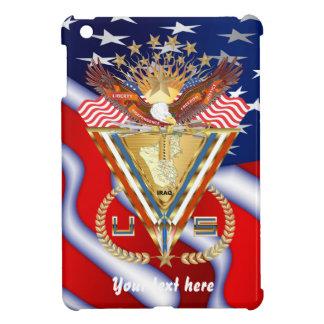愛国心が強いまたは退役軍人の意見の芸術家は次コメントします iPad MINIケース