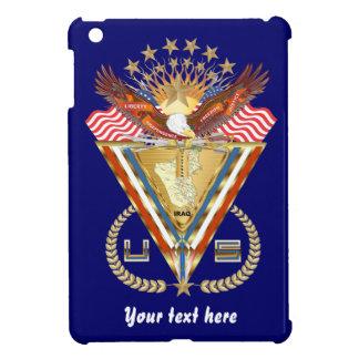 愛国心が強いまたは退役軍人の意見の芸術家は次コメントします iPad MINI カバー