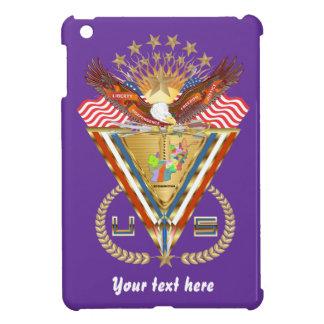 愛国心が強いまたは退役軍人の意見の芸術家は次コメントします iPad MINI CASE